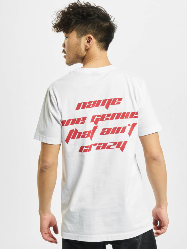 Mister Tee Hombres Camiseta Name One in blanco