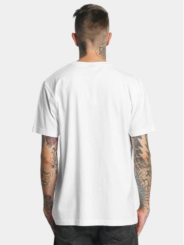 Mister Tee Hombres Camiseta LA Sketch in blanco