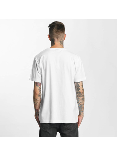 Mister Tee Hombres Camiseta Brooklyn Way in blanco