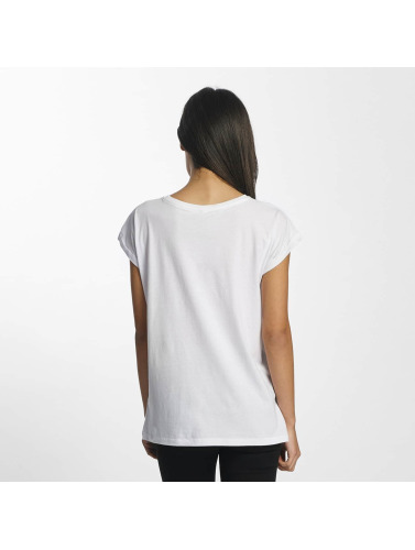Mister Tee Mujeres Camiseta Wake Up in blanco