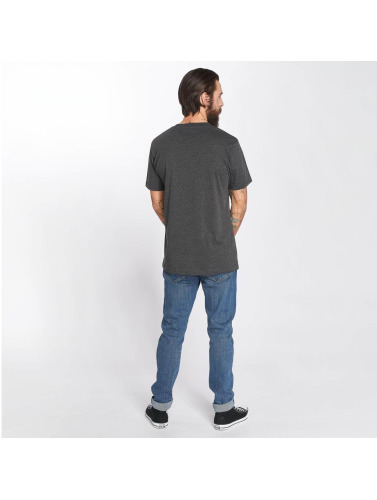 Mister Tee Hombres Camiseta Pray in gris