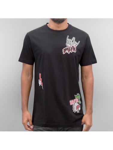 Mister Tee Hombres Camiseta BKLYN in negro