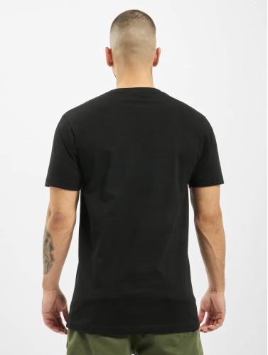 Mister Tee Hombres Camiseta Tupac Shakur Hands in negro