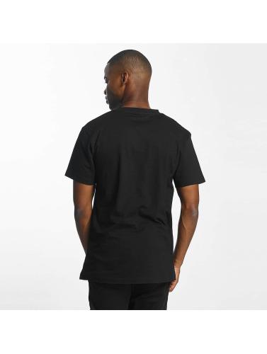 Mister Tee Hombres Camiseta Run DMC King of Rock in negro