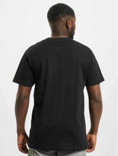 Mister Tee Hombres Camiseta Fist in negro