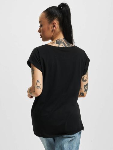 Mister Tee Mujeres Camiseta NASA Insignia in negro