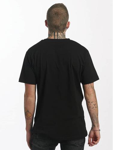 Mister Tee Hombres Camiseta Waterpaint Skull in negro