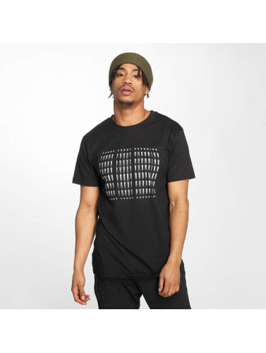 Mister Tee Hombres Camiseta Three Lucky Cherries in negro