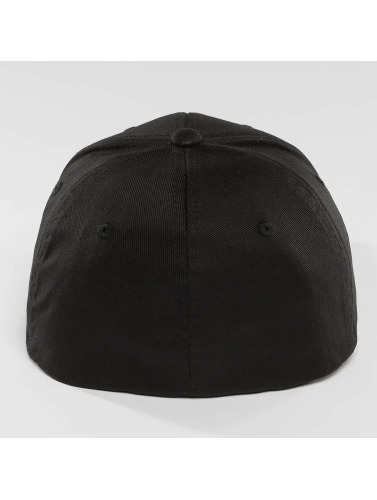 Mister Tee Flexfitted Cap LA Smile in schwarz