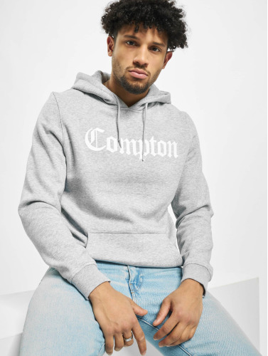 Mister Tee Herren Hoody Compton in grau