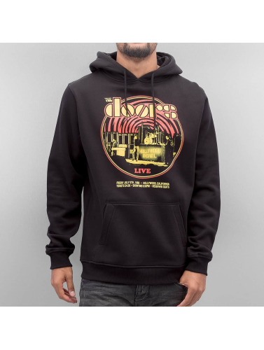 Mister Tee Herren Hoody The Doors Warp in schwarz