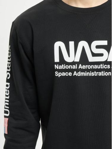 Mister Tee Hombres Jersey NASA US in negro