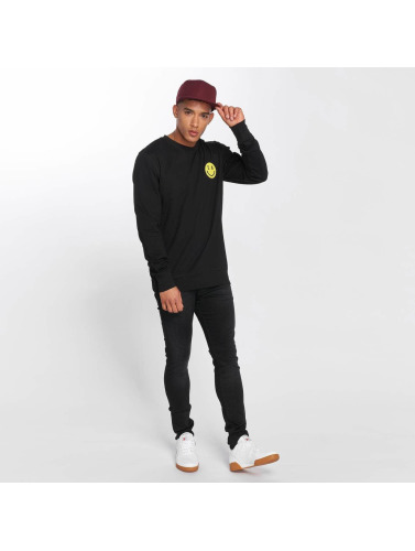Mister Tee Hombres Jersey LA Smile in negro