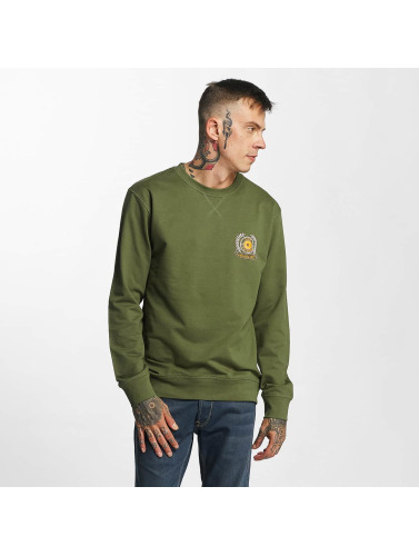 Mister Tee Hombres Jersey S.I.N.N. in oliva