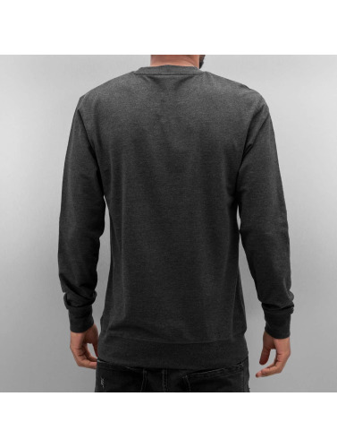 Mister Tee Herren Pullover All The Way Up in grau