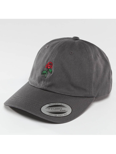 Mister Tee Snapback Cap Rose Dad in grau
