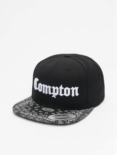 Mister Tee Herren Snapback Cap Compton Bandana in schwarz