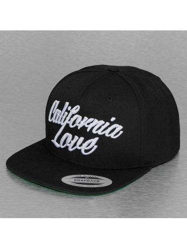 Mister Tee Snapback Cap California Love in schwarz