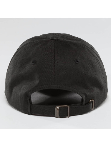 Mister Tee Snapback Cap Crown Dad in schwarz