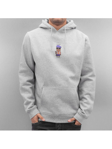 Mister Tee Hombres Sudadera Get Money in gris