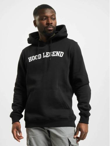 Mister Tee Hombres Sudadera Hood Legend in negro
