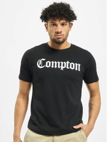 Mister Tee Herren T-Shirt Compton in schwarz