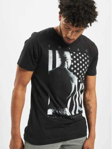 Mister Tee Herren T-Shirt 2Pac President in schwarz