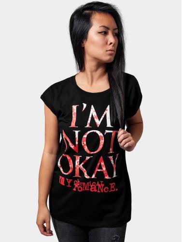 Mister Tee Damen T-Shirt MY Chemical Romance in schwarz