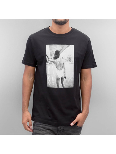 Mister Tee Herren T-Shirt Easy Livin in schwarz