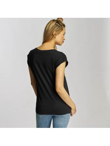 Mister Tee Damen T-Shirt Ladies Bob Marley Lion Face in schwarz