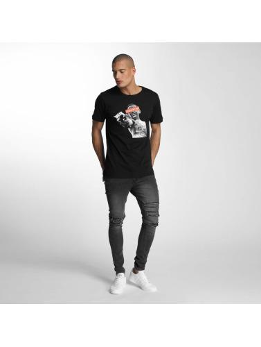 Mister Tee Herren T-Shirt Stick Up Kid in schwarz