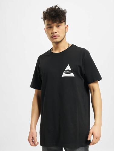 Mister Tee Herren T-Shirt Triangle in schwarz