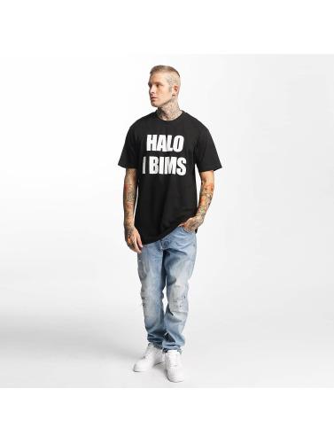 Mister Tee Herren T-Shirt Halo I Bims in schwarz