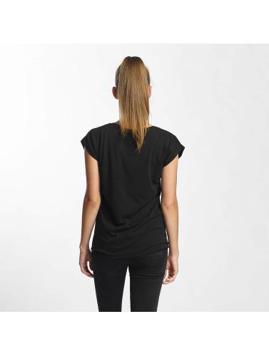 Mister Tee Damen T-Shirt Rose in schwarz