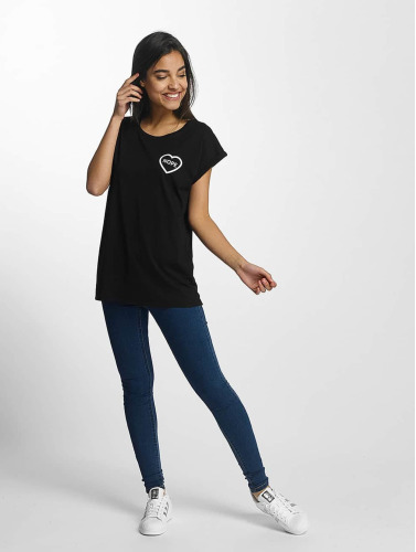 Mister Tee Damen T-Shirt Nope in schwarz