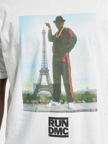 Mister Tee Herren T-Shirt Run DMC Paris in weiß
