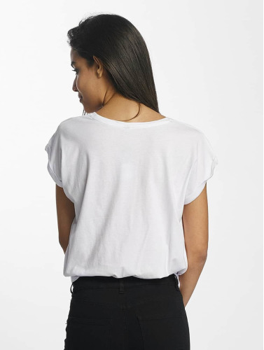 Mister Tee Damen T-Shirt Zero Likes in weiß
