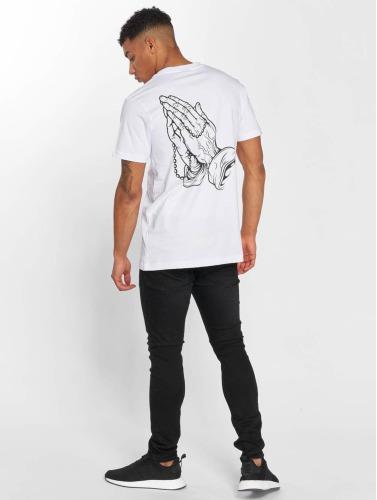 Mister Tee Herren T-Shirt Pray Handy in weiß