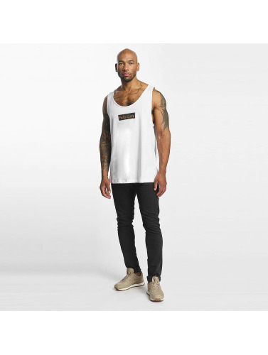 Mister Tee Hombres Tank Tops Fake Love in blanco