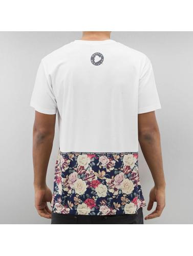Monkey Business Herren T-Shirt Flowers Hem in weiß