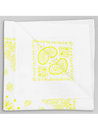 MSTRDS Bandana Printed in gelb