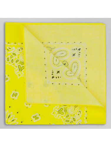 MSTRDS Bandana Printed in gelb