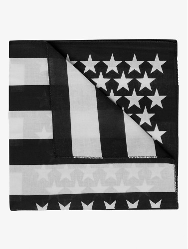 MSTRDS Bandana Stars & Stripes in schwarz