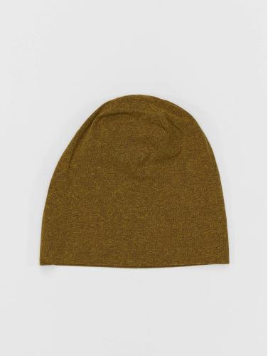MSTRDS Herren Beanie Heather Jersey in gelb