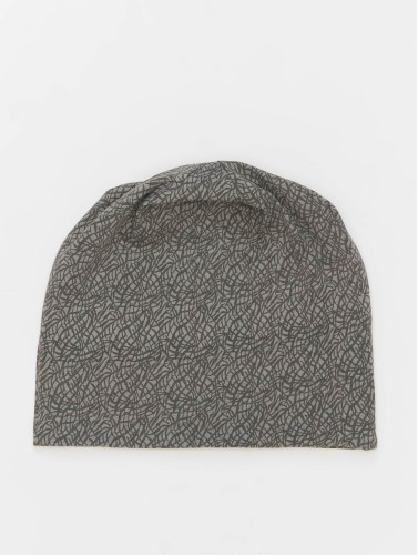 MSTRDS Beanie Printed Jersey in grau
