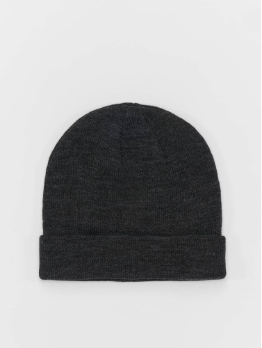 MSTRDS Beanie Short Cuff Knit in grau