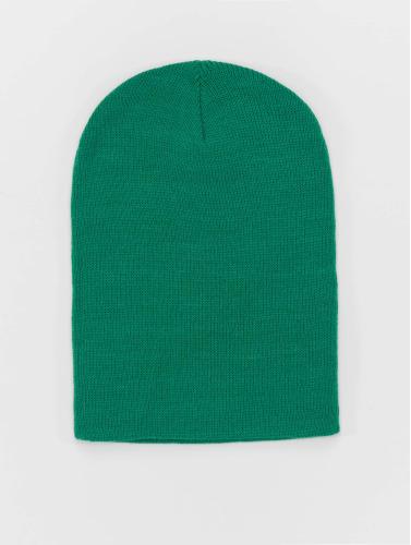 MSTRDS Beanie Basic Flap in grün