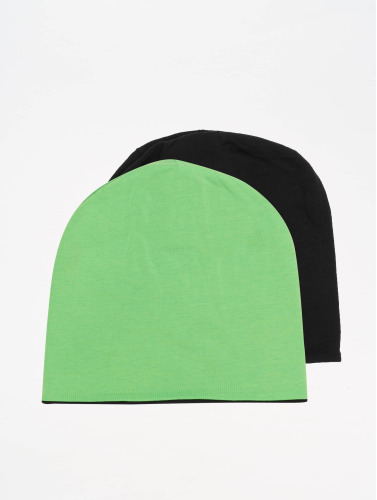MSTRDS Beanie Jersey Reversible  in grün