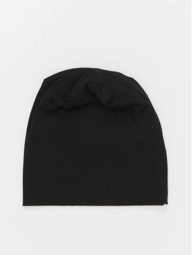 MSTRDS Herren Beanie Jersey in schwarz