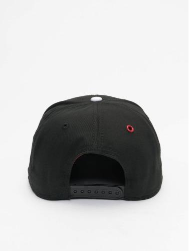 MSTRDS Snapback Cap H Letter in schwarz